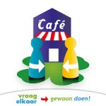 VraagelkaarCafé logo